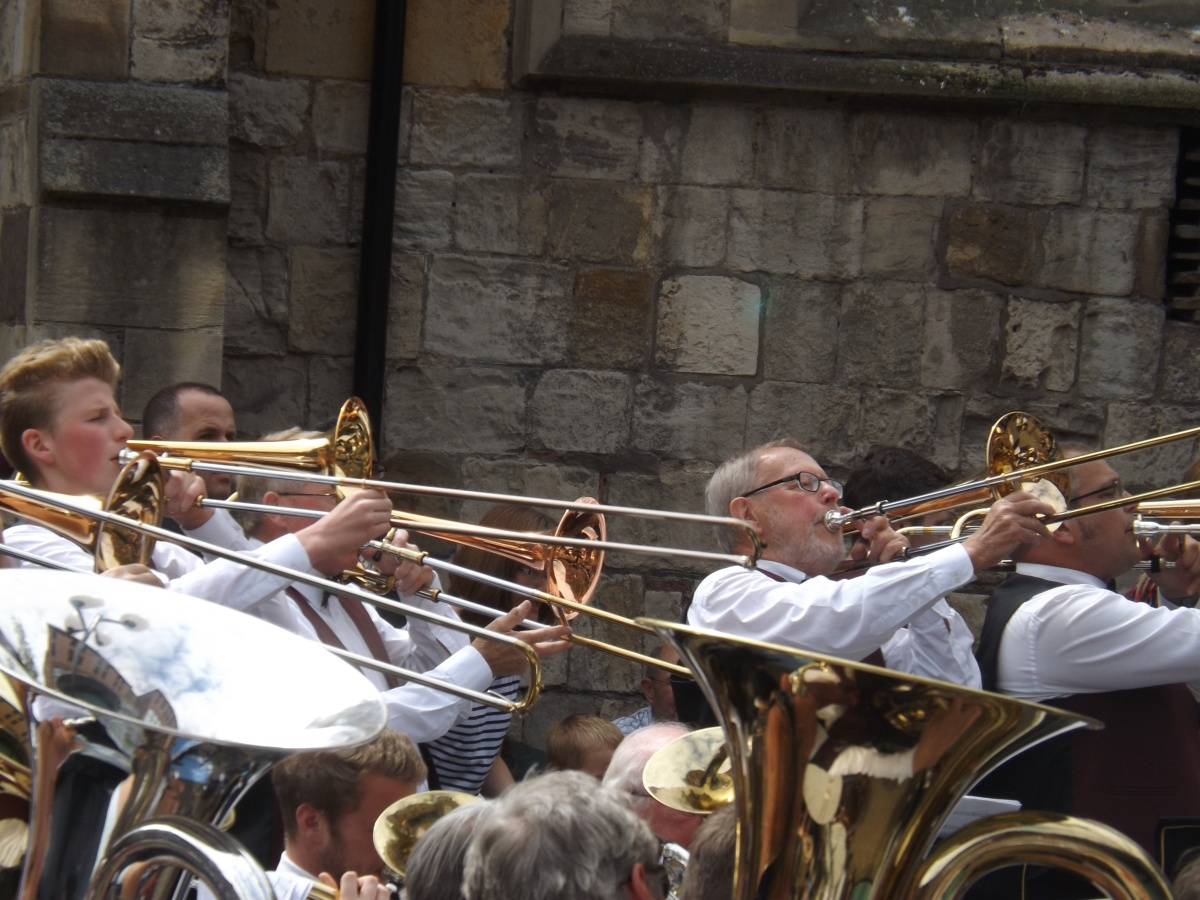 Bands fill York with sound of brass
